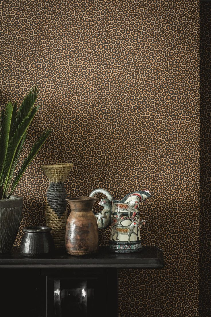 Elegant Senzo Spot Wallpaper   A Pleasing Wallpaper A Small Scale Animal Print  Design, Inspired By The Charmingly Naive Patterning Of Giraffe Spots  Created By ... Amazing Design