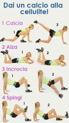 Programma di esercizi studiati per eliminare la cellulite|Zyxelle