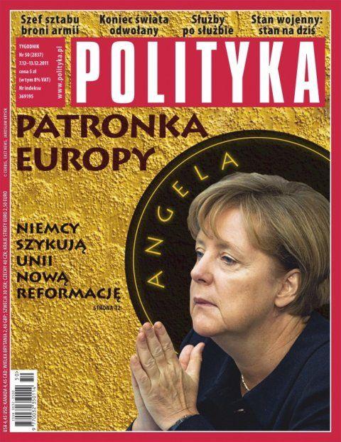 Tygodnik Polityka / Angela Merkel