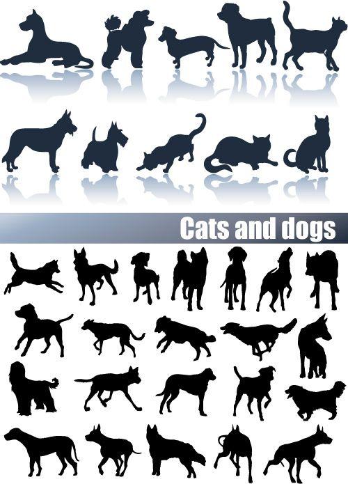 46 best silhouette dog images on pinterest dog quilts dog pattern rh pinterest com