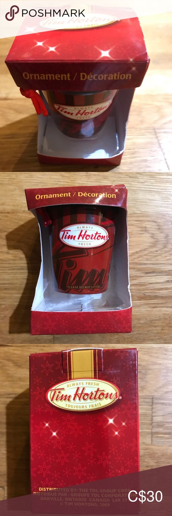 Tim Hortons Coffee Cup Christmas Tree Ornament in 2020