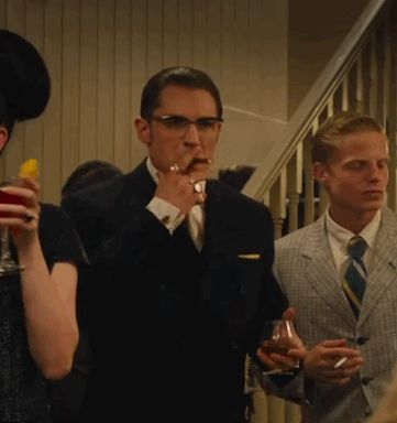GIF: Tommy as Ronald Kray / Reginald Kray - Legend (2015) / TH0083