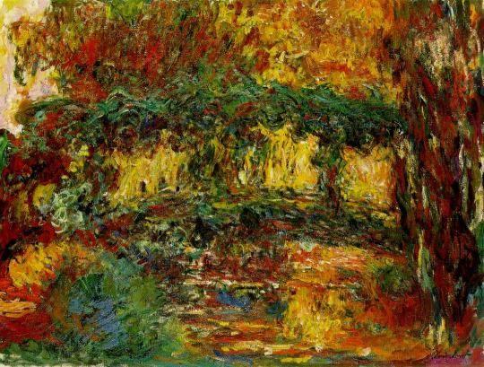 The Japanese Bridge ~ Claude Monet