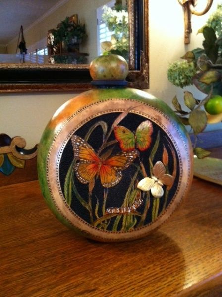 1443 Best Images About Gourd Birdhouses On Pinterest