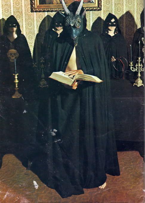 ANTON LAVEY - Satanic mass_1968