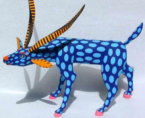 Alebrije figurine from Oaxaca Mexico