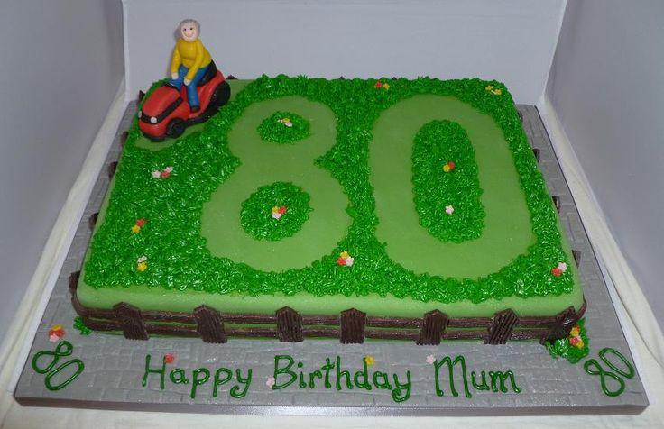 lawn mower cake - Google Search