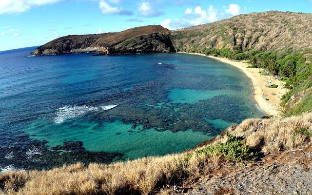 Oahu Island in Hawaii