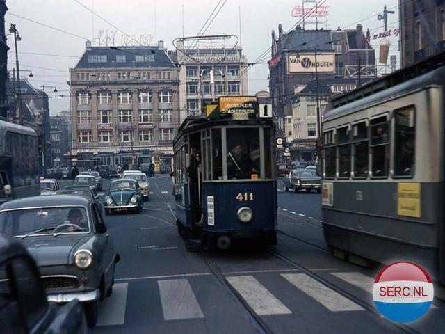 Leidseplein Amsterdam (jaartal: 1960 tot 1970) - Foto's SERC