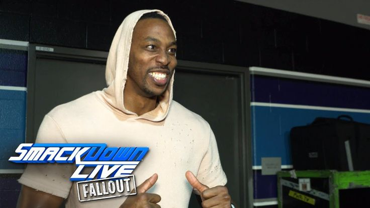NBA All-Star Dwight Howard raves about SmackDown LIVE: SmackDown LIVE Fallout, Nov. 14, 2017 - YouTube  ||  Charlotte Hornets center Dwight Howard excitedly recalls his night at SmackDown LIVE in The Queen City, including seeing The New Day face off with The Shield... https://www.youtube.com/watch?v=lajOLA1BLYI