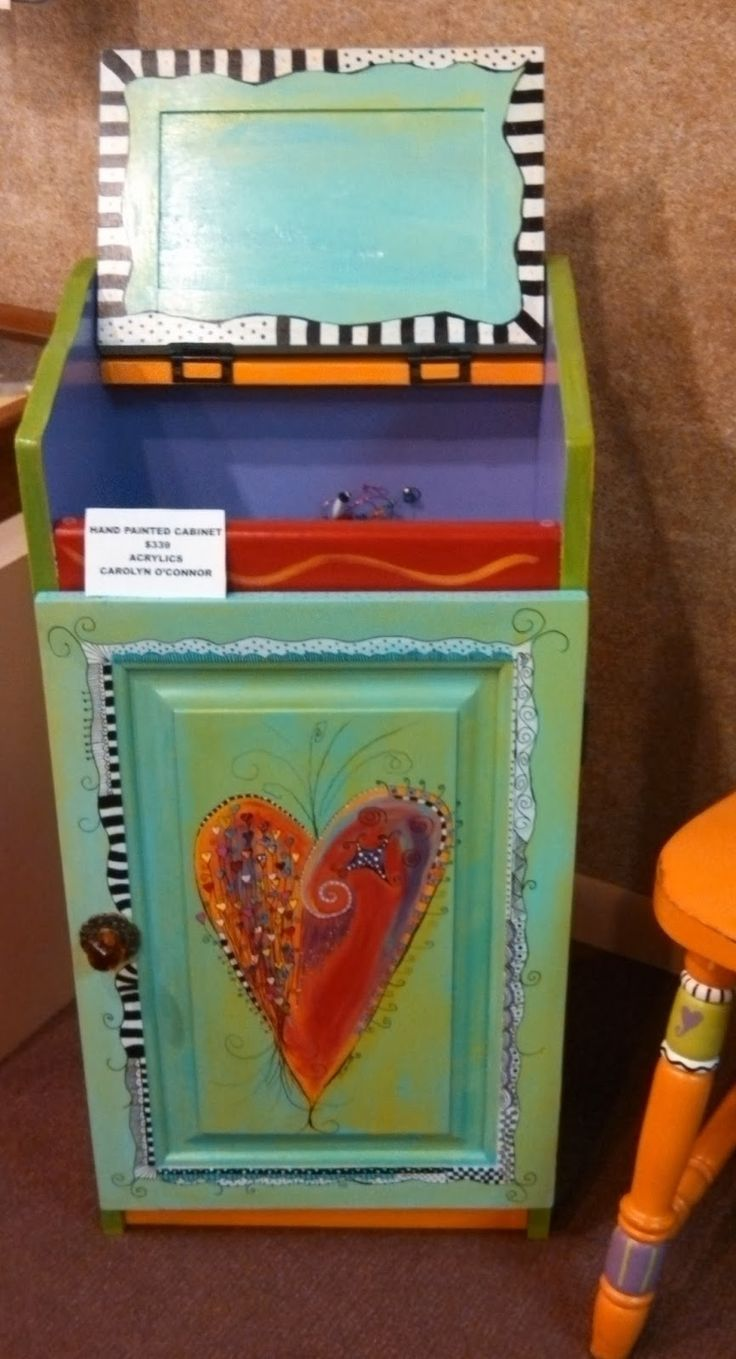 Painted Furniture 1186 Best Art Painted Furniture Images On Pinterest