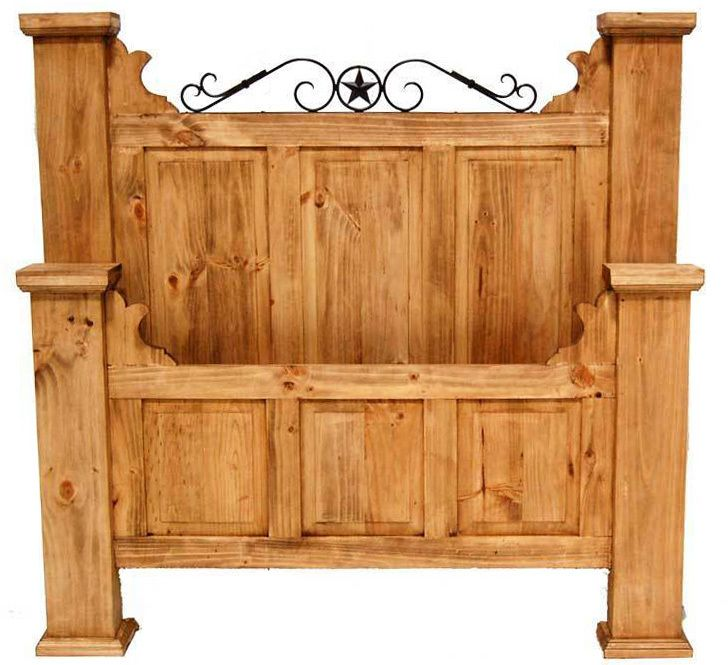 Full Hacienda Bed | Rustic Furniture | Great Western Furniture Co.