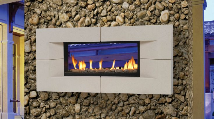 Echelon See Thru Directvent Gas Fireplaces Majestic Products Gas Fireplaces Modern