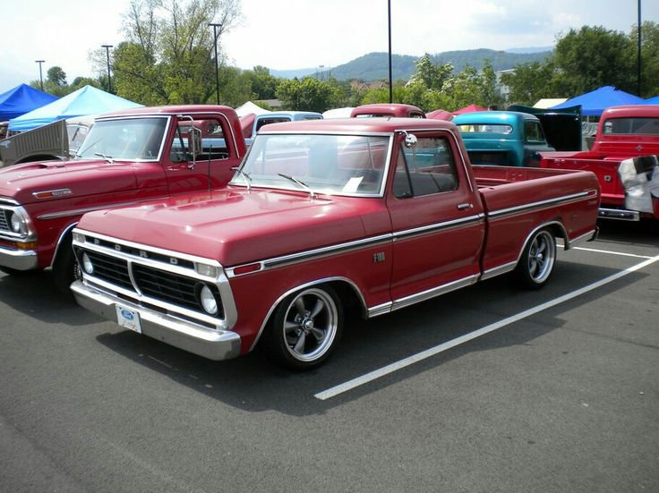1974 Ford F100. & 94 best Ford Trucks u002773-UP images on Pinterest | Ford trucks ... markmcfarlin.com
