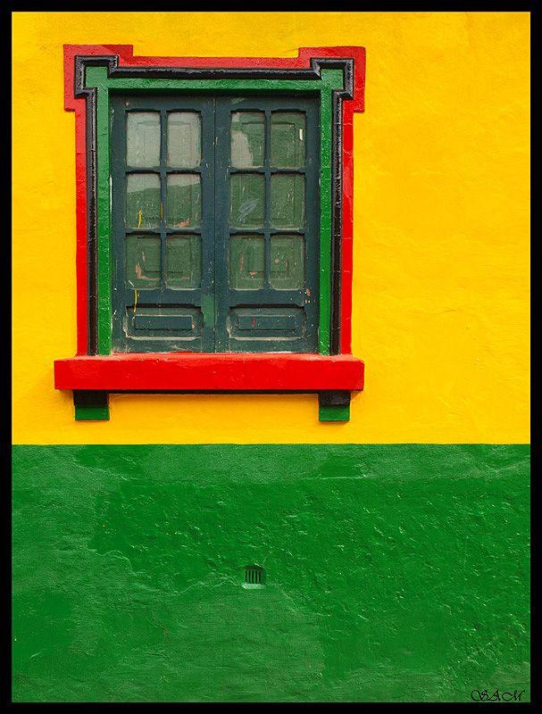 The colour of the Candelaria area of Bogota