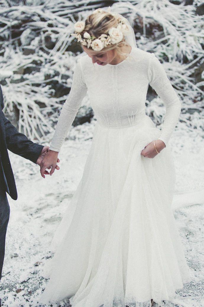 Mariage en hiver d'Alice et Nicolas - Auvergne-