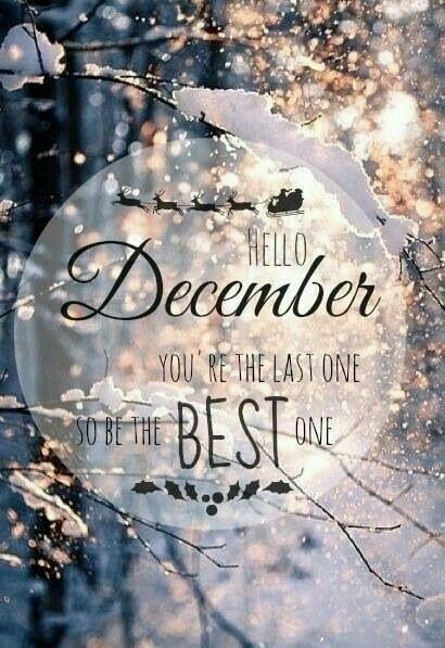 #GoodMorning I hope #begood. #happymonday #helloDecember #december the first...
