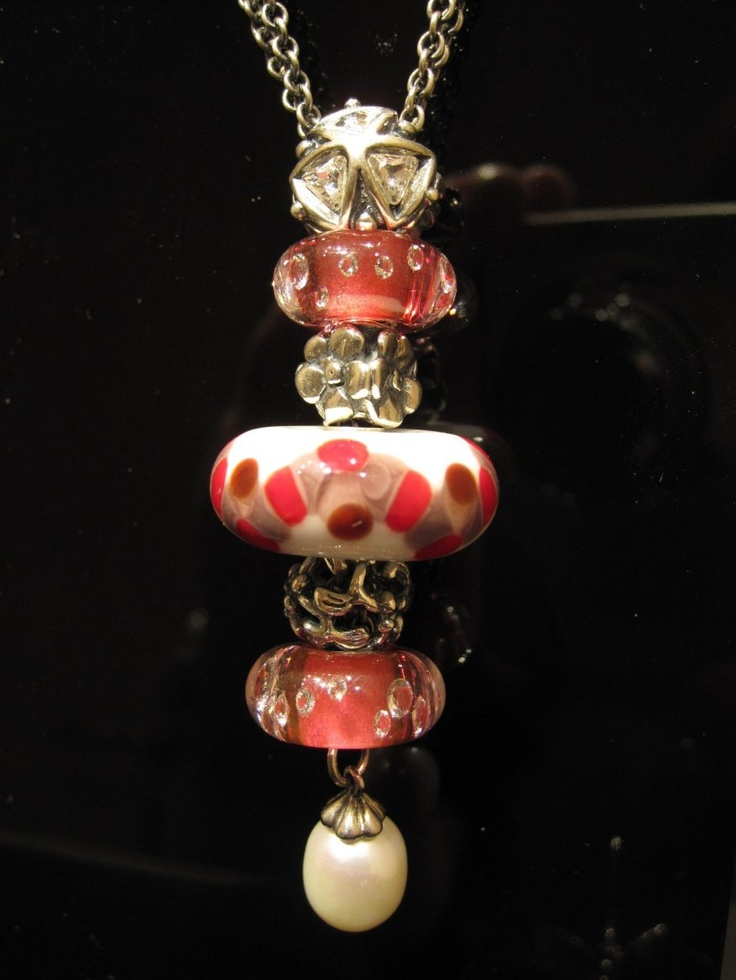 Trollbeads pendant with BIG Fantasy limited edition. By #bizougioielli