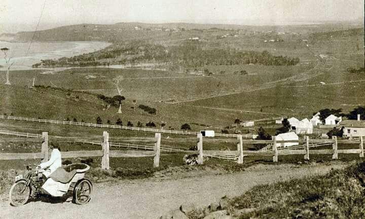 Kiama in New South Wales of yesteryears.