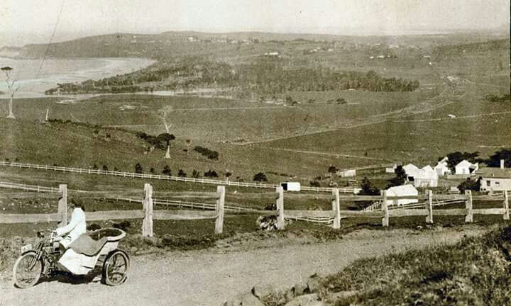 Kiama in New South Wales of yesteryears.