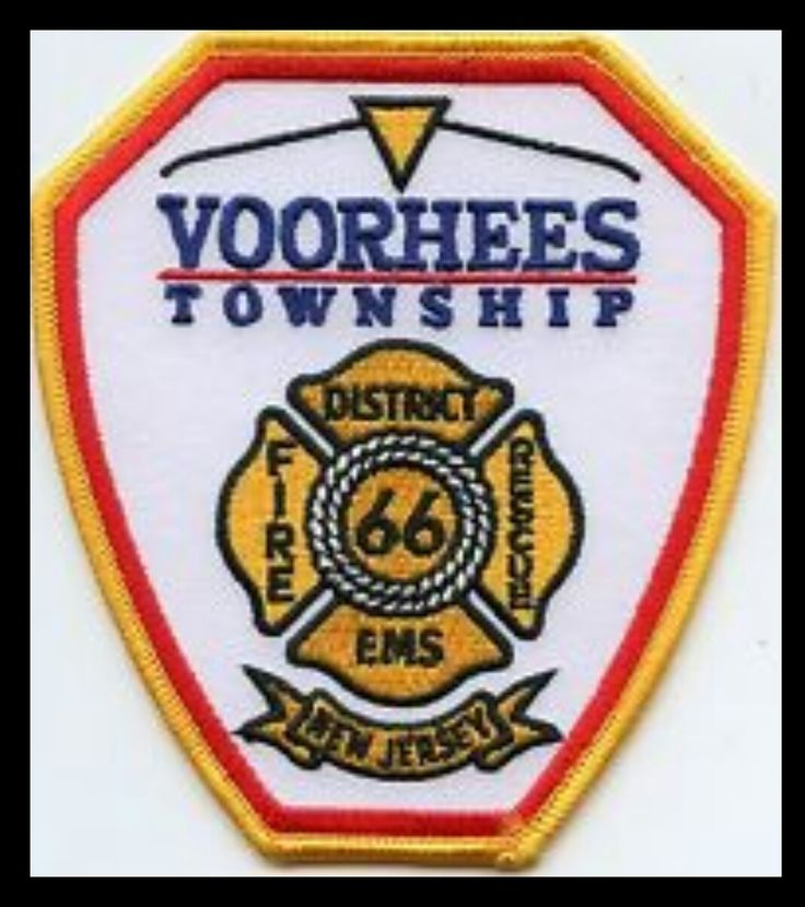 Voorhees Township NJ FD Patch Paramedic quotes, Ems