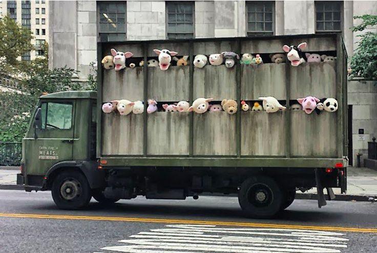 Banksy, Farm Fresh Meats, 2013