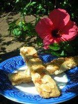 Jan Hagel Cookies - one of my families Christmas favorites