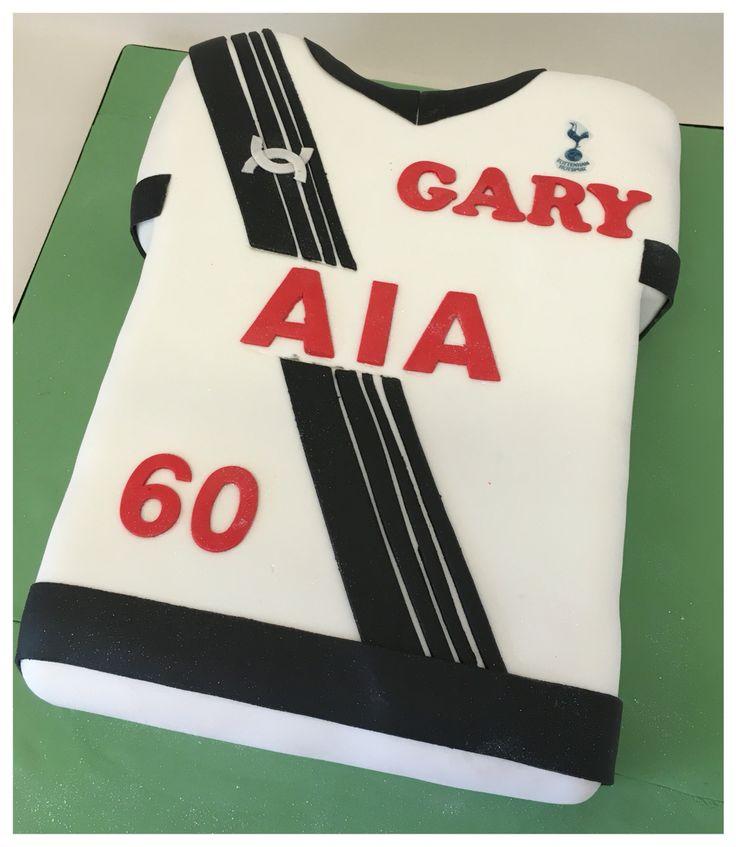 Tottenham Hotspur sixtieth birthday cake