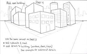 How to Draw Cityscape for Kids | Coloring Page for Kids ...