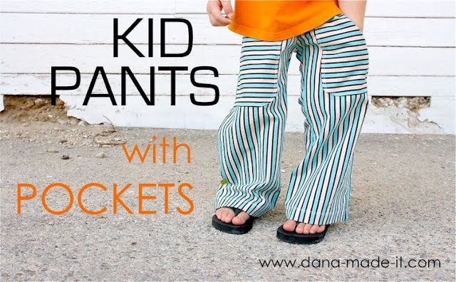 TUTORIAL: KID Pants with POCKETS   MADE: Sewing Projects, For Kids, Boys, Diy Clothing, Pocket Tutorials, Flats, Kids Clothing, Pants Pattern, Kids Pants