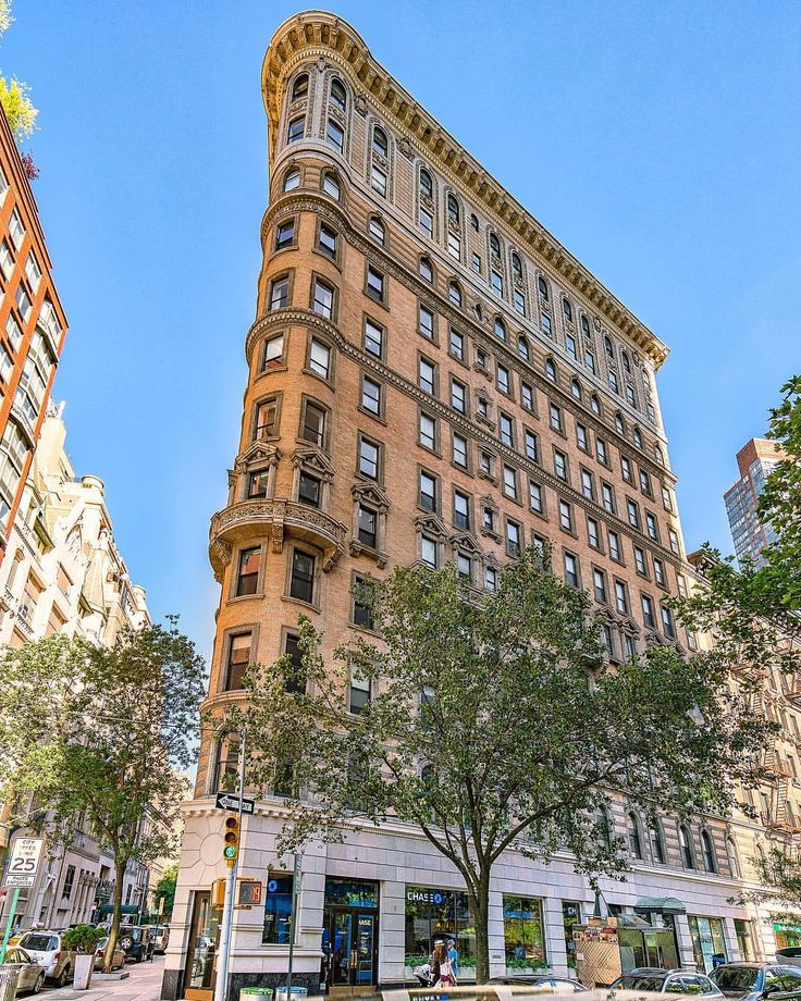 Sooooo...... Did you know that the Flatiron has a COUSIN? Upper West Side New York City