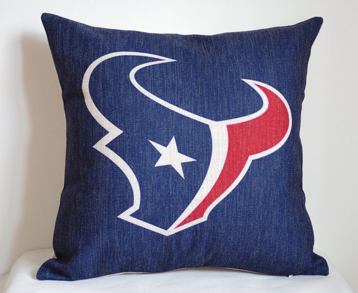 NFL Houston Texans pillow, Houston Texans decor pillow cover,Houston Texans gift by DecorPillowStore on Etsy https://www.etsy.com/listing/200892166/nfl-houston-texans-pillow-houston-texans