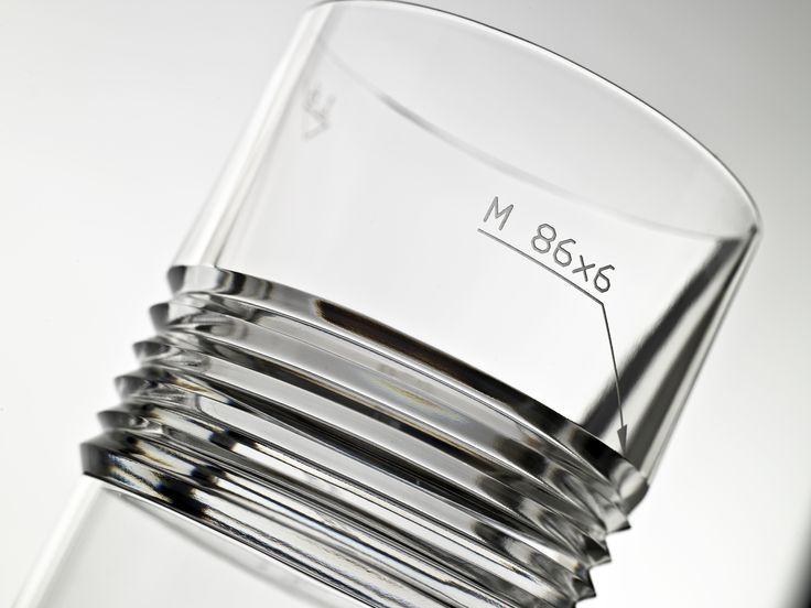 Engineer whisky glass