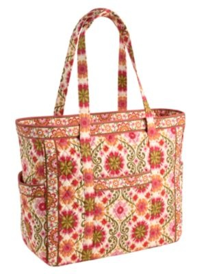 Vera Bradley Carried Away Tote-perfect pool bag for the summer