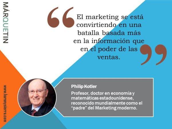 Philip Kotler - Márquetin el Blog de Harony Sierra