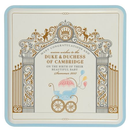 Marks + Spencer marks the birth of Prince George with limited edition tin