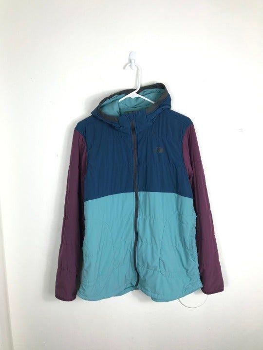 0bcf2c412 Item: Women's XL The North Face Purple Blue Gray Full Zip Winter ...