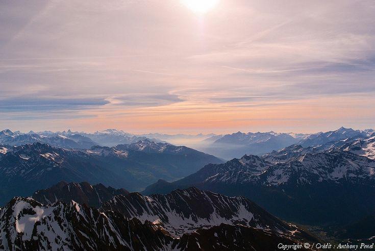 Photo aérienne de Val d'Aoste - Italie (Italia)