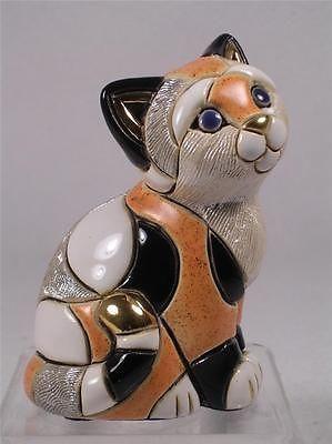 DeRosa Rinconada коллекции семьи 'Оранжевый Калико Kitten' Статуэтка # F358 - NIB