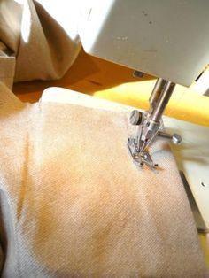 Faire un ourlet de rideau à la machine