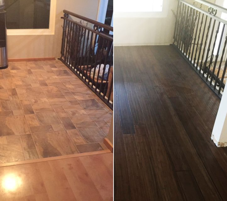 De colour select pewter maple hardwood flooring at lumber liquidators - 17 Best Images About Makeover Of The Week On Pinterest