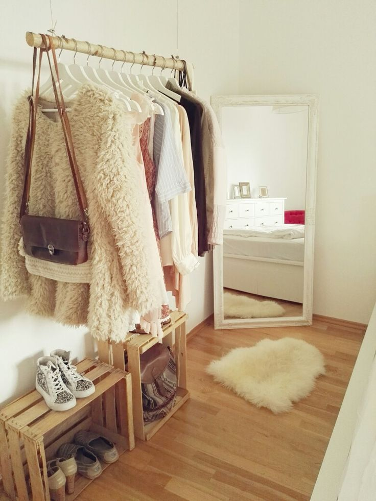 DIY Kleiderstange Aus Holz