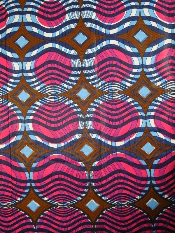 African Fabric Super Wax Print