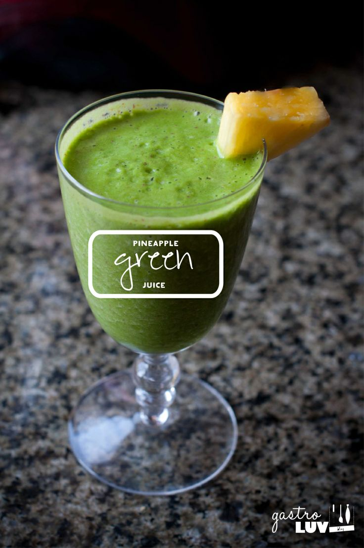 Detox Day 6 Tropical green smoothie, Dairy free