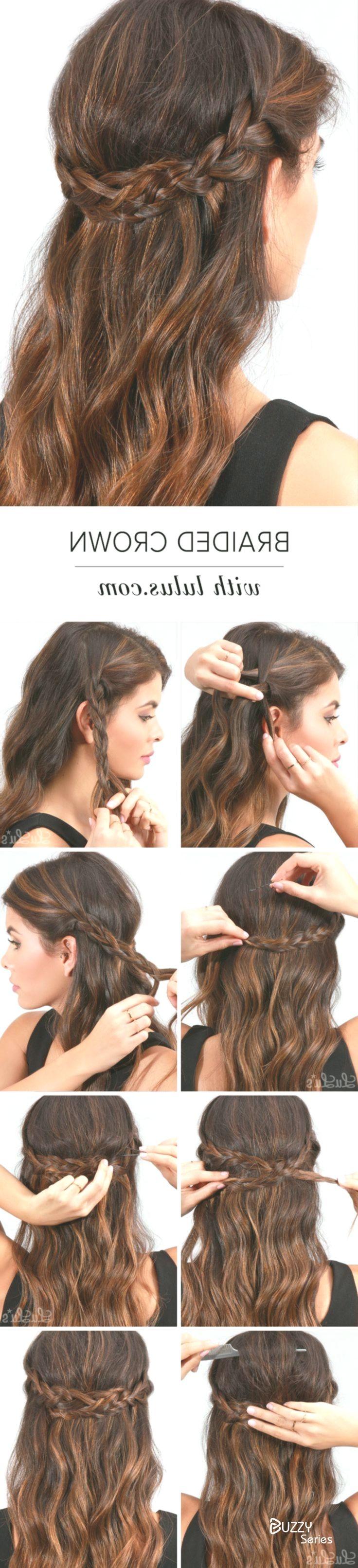Super einfache DIY geflochtene Frisuren für Hochzeit Tutorials
