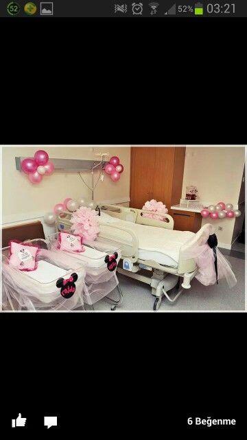 Bebek sekerleri Hastane odasi susleri