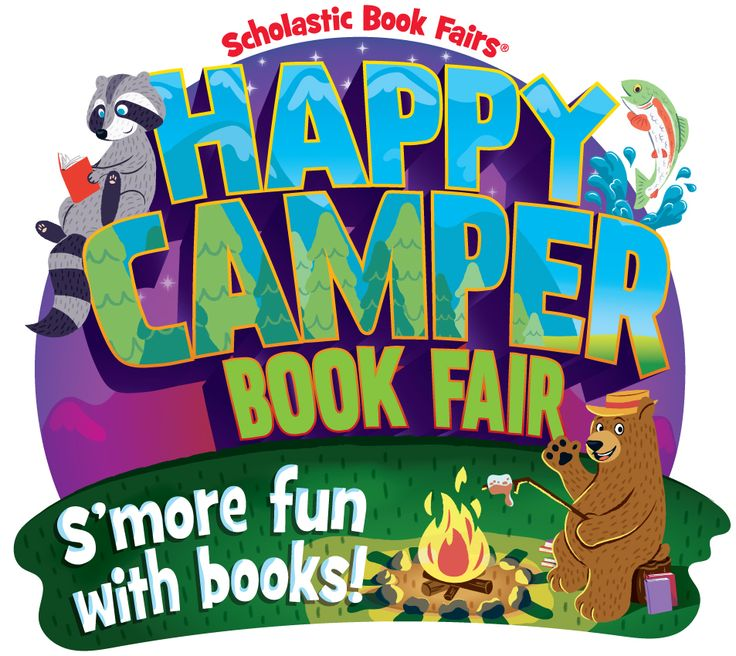 Happy Camper Book Fair: S'more Fun with Books! | Scholastic Book Fairs
