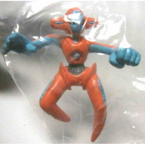 Pokemon 2004 Bandai Full Color Advance Movie Special Series Deoxys Normal Form Figure Deoxys