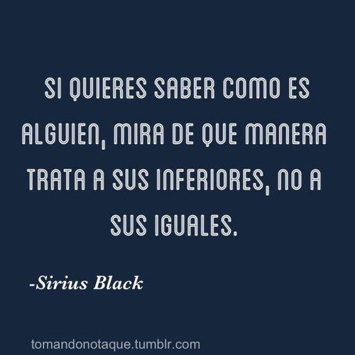 Cita celebre de -Sirius Black