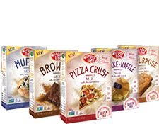 Enjoy Life Baking Mixes Variety 6-Pack | Can't decide? Try them all! This variety pack features one of each Pancake + Waffle Mix, Brownie Mix, Muffin Mix, Pizza Crust Mix, and one All-Purpose Flour Mixes! Grab this pack to host the perfect party, or plan your snacks for the next family outing! Contents: One box each of our other baking mixes: Brownie Mix, Muffin Mix, Flour Mix, Pancake & Waffle Mix and Pizza Crust Mix.